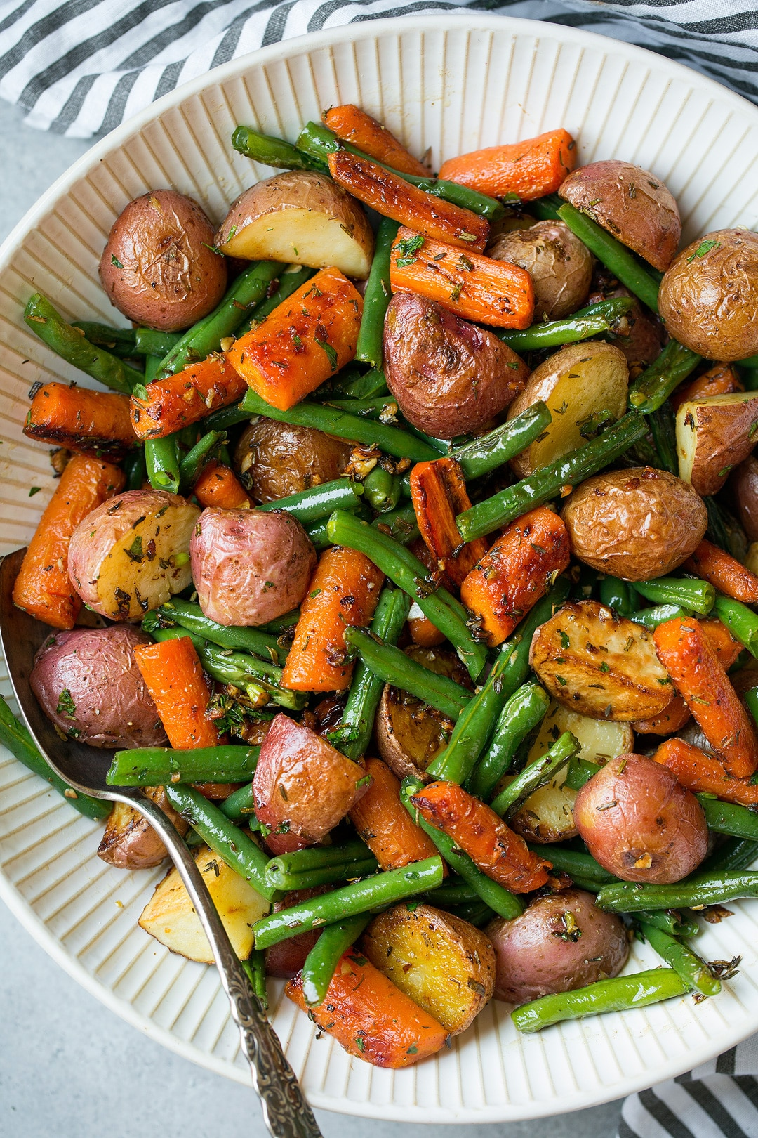 Roasted Vegetables with Garlic and Herbs
