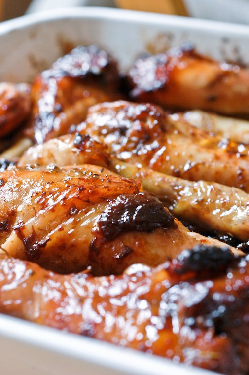 Caramelized Chicken with Green Olives and Prunes Recipe