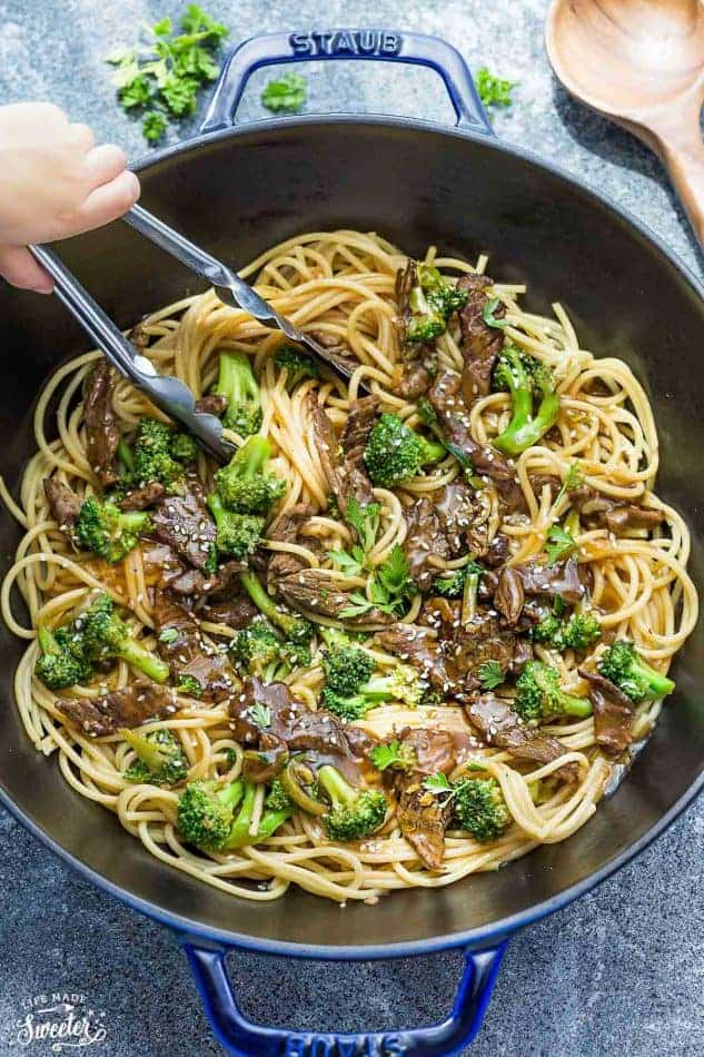 Beef Lo Mein Noodles