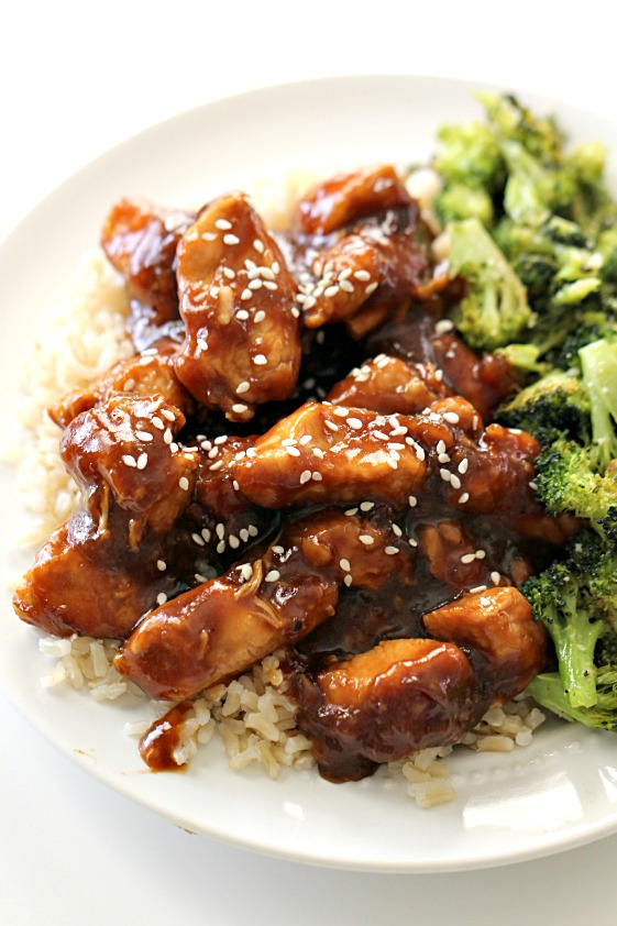 Instant Pot EASY Sesame Chicken and Rice