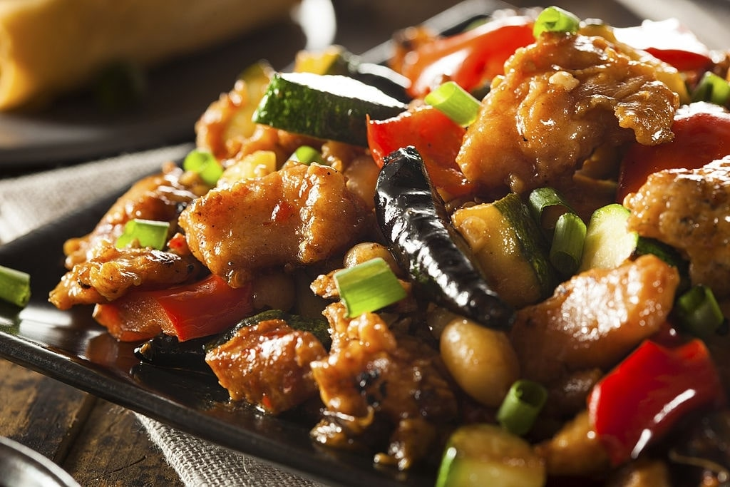 Keto Kung Pao Chicken (Low Carb)